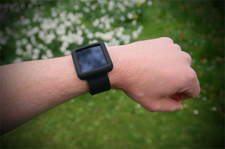 Wrist wear your nano with the Griffin Courier Band
