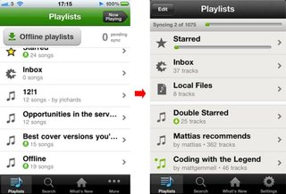 Spotify for iPhone updated brings new look and return of the edit button
