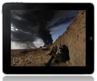 360 video iPad app will let you witness war up close