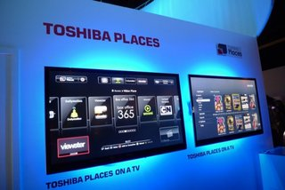 Toshiba Places hands-on