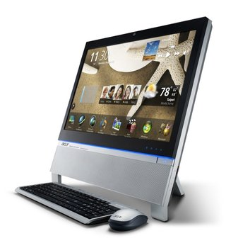 Acer Aspire Z5761: The touch screen all-in-one PC
