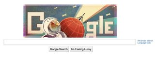 Gagarin doodle: Google celebrates first human space flight
