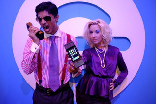 Thumbs Up's 80s Retro iPhone case at The Gadget Show Live