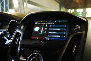 ford sync with myford touch hands on image 10