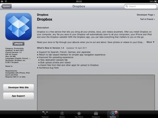 Dropbox for iPad and iPhone update brings bulk photo uploads