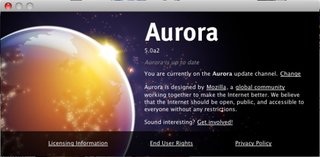 Aurora lets you try Firefox 5 now