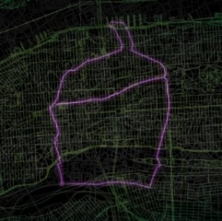 VIDEO: OK Go inspired GPS art