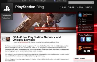 Sony: PSN should be back by 3 May, just don't hold us to it
