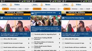 Al Jazeera streaming live to Android and BlackBerry