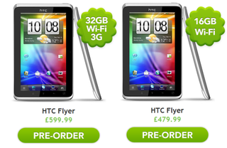 HTC Flyer: Officially on sale and officially expensive