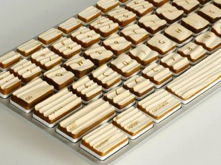The Engrain Tactile keyboard gives you wood