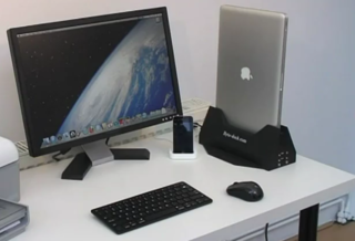 Byte-dock Thunderbolts in MacBook docking station
