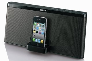 Sony docks down trio of iPhone speaker options