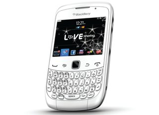 BlackBerry Curve 3G will be all white