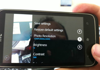 12-megapixel HTC Windows Phone 7 caught on camera
