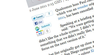 Pocket-lint adds Google +1 button - What's that?