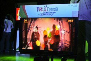 E3 Quick Play: Fruit Ninja Kinect