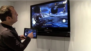 OnLive takes on the Wii U with tablet demo