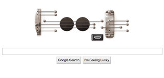 Google creates playable guitar doodle for Les Paul's 96th Birthday