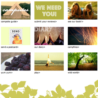 WEBSITE OF THE DAY – Happy Campers