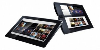 Sony S1 and S2 tablets: Pre-orders August, available September