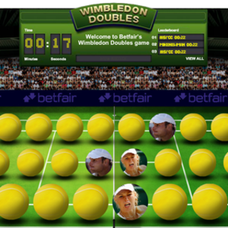 WEBSITE OF THE DAY – Betfair Wimbledon Doubles
