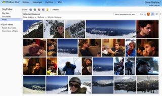 SkyDrive revamped; 25GB, HTML5, and photo friendly