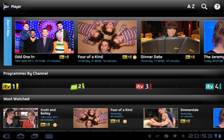ITV Player on Android hands-on