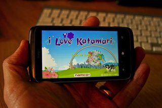 APP OF THE DAY: I Love Katamari review (WP7)