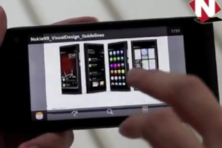 VIDEO: Nokia N950 MeeGo in action