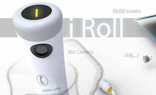 iRoll smartphone concept swaps practicality for looks