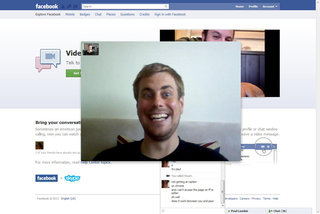 Facebook dials in Skype video calling