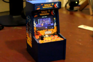 VIDEO: The world's smallest Space Invaders arcade