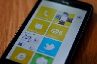 Microsoft's Ballmer admits Windows Phone 7 sales still small
