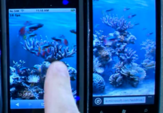 VIDEO: Windows Phone 7 Mango outperforming iPhone iOS 5
