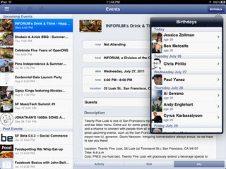 Facebook iPad app finally revealed