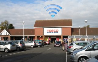 Tesco Wi-Fi to be free in-store