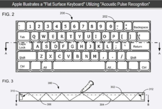 Apple touch keyboard loses the keys