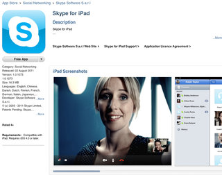 Skype for iPad makes an official comeback