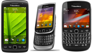 RIM details five new BlackBerry 7 smartphones