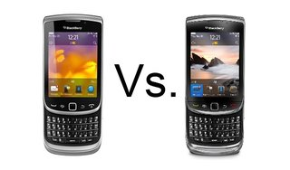 BlackBerry Torch 9810 vs BlackBerry Torch 9800