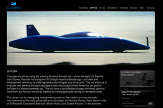 WEBSITE OF THE DAY - Bluebird speed