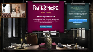 Pottermore hit by dark magic ahead of big launch