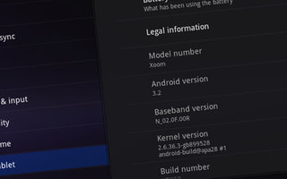 SD cards rejoice as Android 3.2 lands on Motorola Xoom