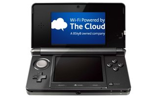 Nintendo heads for The Cloud for free 3DS Wi-Fi