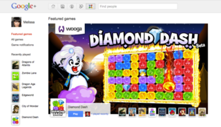Games arrive in Google+ to take on Facebook