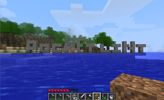 Minecraft Pocket Edition surfaces on Android Market