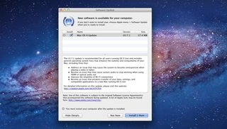 Mac OS X Lion 10.7.1 update out