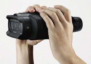 Sony upgrades binoculars by adding 3D and HD recording