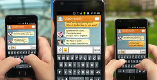 Samsung takes on Apple iMessage with ChatON